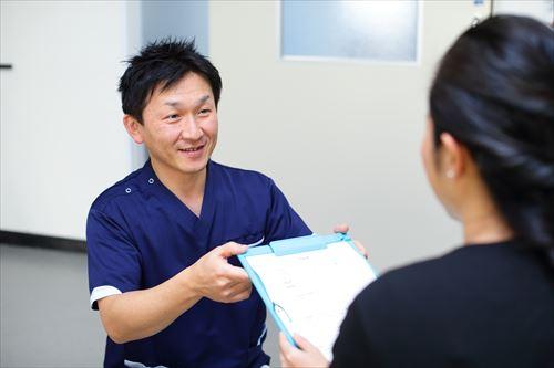 POINT3 雇用前健康診断の患者さんの結果翌日返し